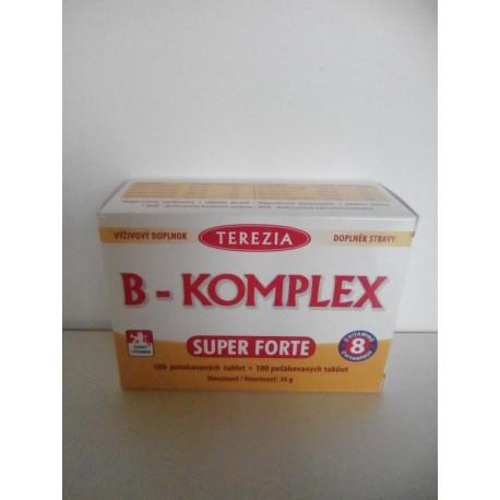 B-komplex super forte 100 tablet