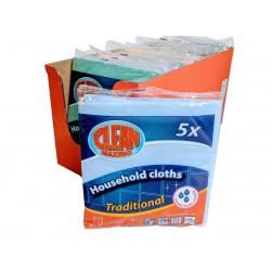 Utěrky pro domácnost Clean Maximo 20x(5ks38x38cm)