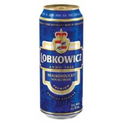 Nealkoholické pivo světlý Premium - Lobkowicz 0,5l