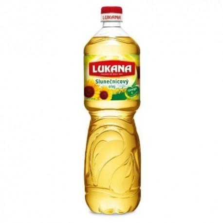 Slunečnicový olej - Lukana 1l