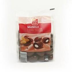 Mandle v hořké čokoládě - Fine Life 300 g