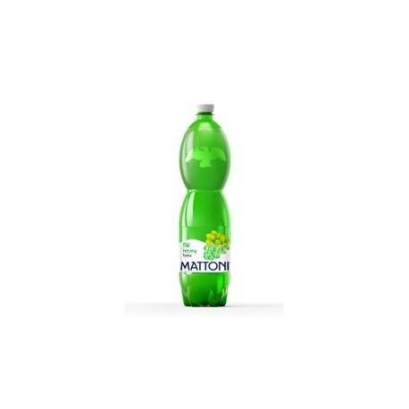 Mattoni minerální voda bílé hrozny 1,5l