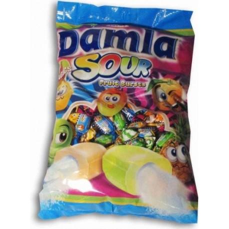 Žvýkací bonbóny s ovocnou práškovou náplní - Tayas 1 kg