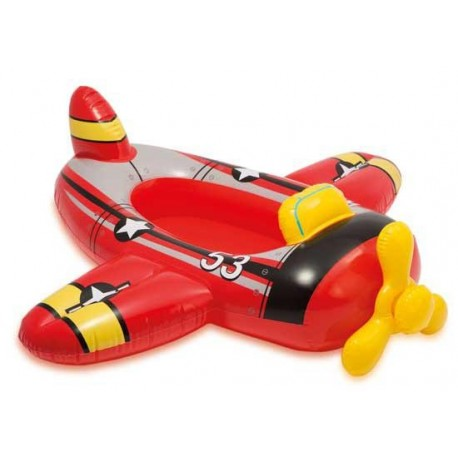 Veselý dětský člun vzor LETADLO