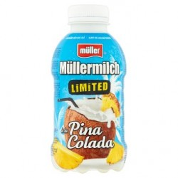 Jogurtový nápoj Pina Colada limitovaná edice - Müllermilch 12x400g
