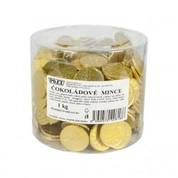 Mléčné čokoládové mince - Poex 1x1000g