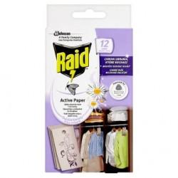 Závěs proti molům čerstvé květy - Raid 12 kusů