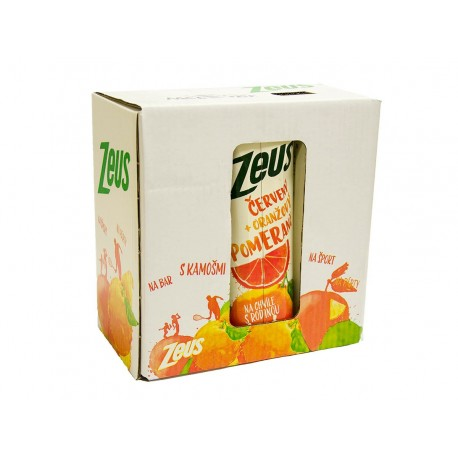 Červený + Oranžový pomeranč - Zeus 1l
