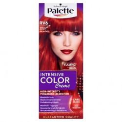 Barva na vlasy Schwarzkopf Palette Intensive Color Creme RV6 Šarlatově červený 1x50ml