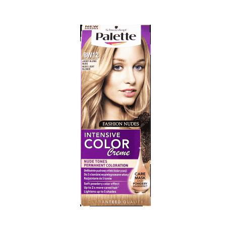 Palette Intensive Color Creme BW12 Světle plavý nude