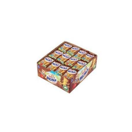 Jemné pečivo s čokoládovou náplní - Brumík 30g