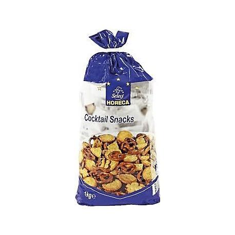 Směs slaných sušenek a preclíků - Horeca 1kg