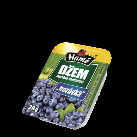 Džem jablečno-borůvkový - Borůvka - Hamé 20g