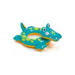 Plavací kruh krokodýl - INTEX 71 x 56 cm