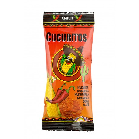 Kukuřice pražená chilli - Cucuritos 30g