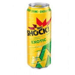 Energetický nápoj Exotic - Big Shock 500ml