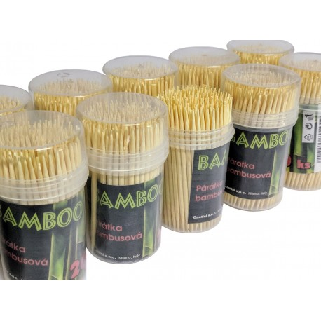 Párátka bambusová Bamboo 1x200ks