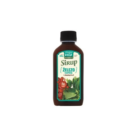 Bylinný sirup Kašlík - Maxi Vita herbal 200ml