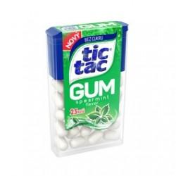 Žvýkačky Spearmint - Tic Tac 12,1g