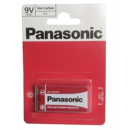 Baterie Panasonic devítivoltovka 9V