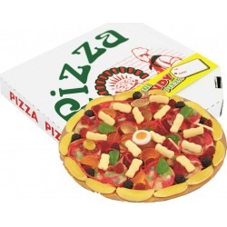 Pizza z želé bonbónů - Chupa Chups