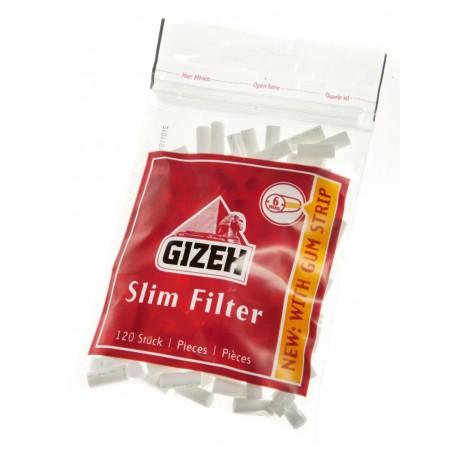 Cigaretové filtry slim 6 mm Gizeh 1x120 ks