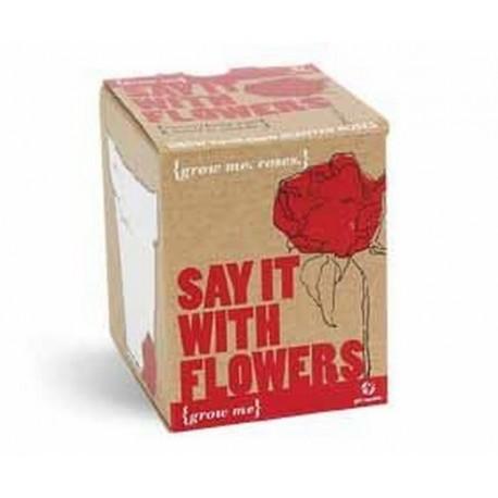 Grow me - Řekni to růží