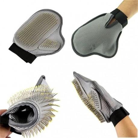 Vyčesávací rukavice pro psa - deluxe