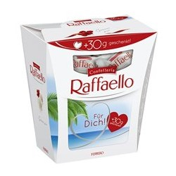 Oplatka s náplní a celou mandlí - Raffaello 260g
