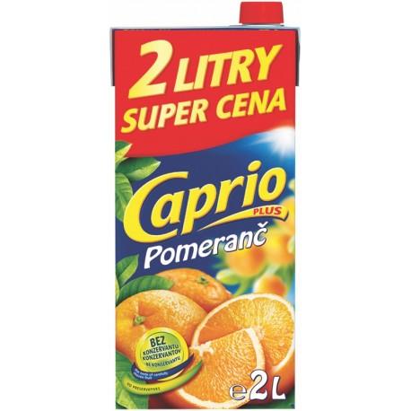Caprio plus Pomeranč 2litry