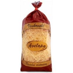 Venkovské vaječné těstoviny premium niťovky vlasové Avelopa 1x400g
