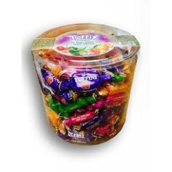 Mix ovocných bonbónů v dóze Toffix - Elvan 1 kg