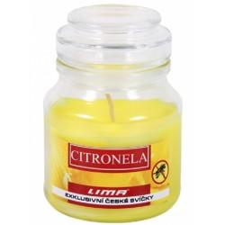 Vonná svíčka ve skle aroma dreams citronela lima 1x300g
