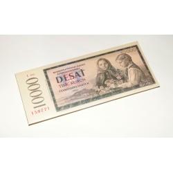 Čokoládová bankovka - 10 000 korun 60g
