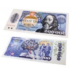 Čokoládová bankovka - 200 000 korun 60g
