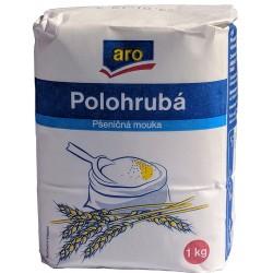 Pšeničná mouka polohrubá ARO 1x1kg