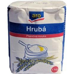 Pšeničná mouka hrubá ARO 1x1kg