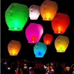 Lampiony štěstí 10ks mix barev