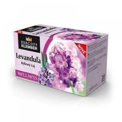 Levandule bylinný čaj Bercoff Klember 12x(20x2g)40g