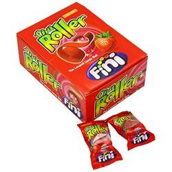 Jahodové kyselé žvýkací role - Fini 40 ks