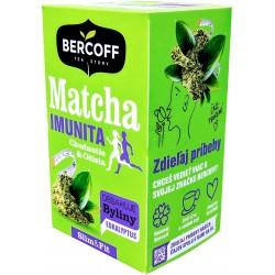 Bylinný čaj s Mátou a Matcha - imunita Bercoff 1x(20x1,75g) 35g