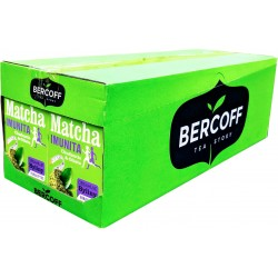 Bylinný čaj s Mátou a Matcha - imunita Bercoff 12x(20x1,75g) 420g