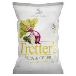 Chipsy řepa&celer s příchutí Cheddaru - Tretter's 90g