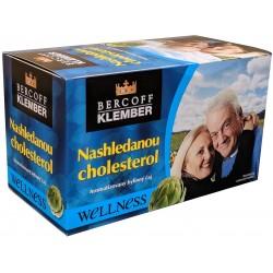 Čaj z bylin, zeleného čaje a ovoce Nashledanou cholesterol Bercoff Klember 1x(20x1,50g) 30g