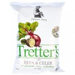 Chipsy řepa&celer s příchutí Balsamico - Tretter's 90g
