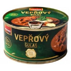 Vepřový guláš 50% masa veseko 1x400g