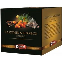 Čaj rakytník a rooibos se skořicí - Druid 27g
