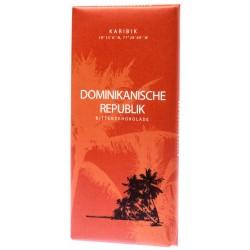 Hořká čokoláda Dominikanische Republik - Karibik 60% 1x100g
