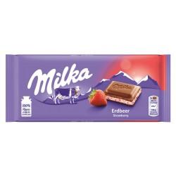 Čokoláda Jahoda - Milka 100g