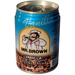 Mr. Brown Vanilla Coffee Drink 24x240ml
